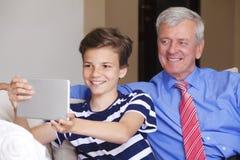 Two generation Stock Photo