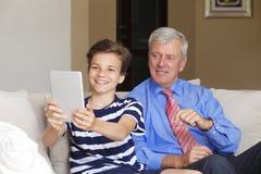 Two generation Stock Photos