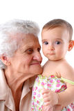 Two Generations Stock Image