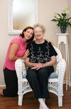 Two Generations Royalty Free Stock Photos