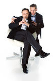 Two gentleman Royalty Free Stock Images