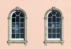 Two Georgian windows Stock Photography