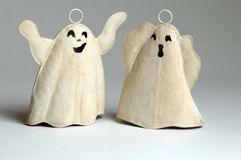 Two ghosts. Whoooooo   two ghosts Stock Photography
