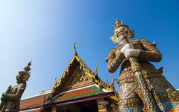 Two Giant keepers at Grand Palace Stock Image