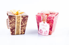 Two gift Royalty Free Stock Photos
