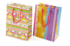 Two gift bags Stock Photo