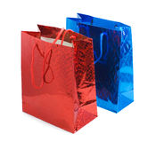 Two gift bags Royalty Free Stock Photos
