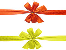 Two gift bow Royalty Free Stock Photos