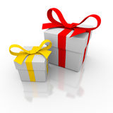 Two gift box Stock Image