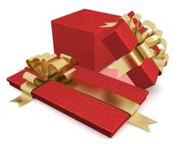 Two gift box. Stock Image