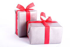Two gift boxes Stock Image