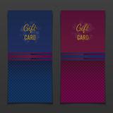 Two gift card Stock Images