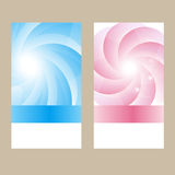 Two gift cards Royalty Free Stock Photography