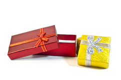 Two gift packings Stock Photography