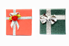Two Gifts Royalty Free Stock Photography