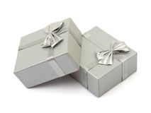 Two gifts Royalty Free Stock Photos