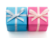 Two gifts Stock Images
