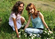 Two girl friend Royalty Free Stock Photos
