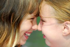 Two girl friends Royalty Free Stock Image