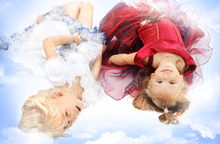 Two girl-friends Royalty Free Stock Images