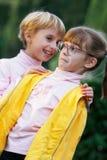 Two girl gossiping Stock Image