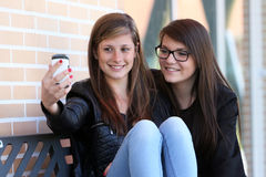 Two_Girl_Picture Stock Image