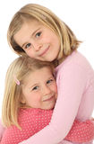 Two girl sisters Royalty Free Stock Photography