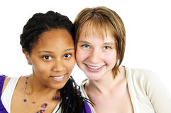 Two girlfriends Royalty Free Stock Image