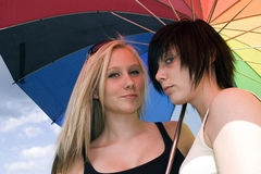 Free Two Girls Royalty Free Stock Photo - 10932895