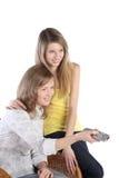 Two girls Stock Image
