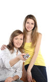 Two girls Stock Images