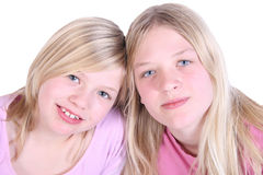 Two girls Stock Image