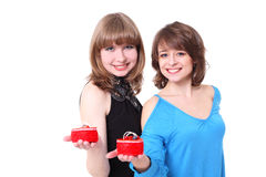 Two girls Royalty Free Stock Photography