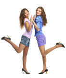 Two girls Royalty Free Stock Photos