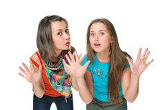 Two girls Stock Photos