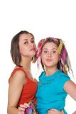 Two girls Stock Photography