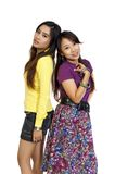 Two Girls Friends Stock Image