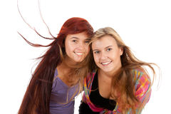 Two girls friends Royalty Free Stock Photos