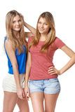 Two girls friends Royalty Free Stock Image