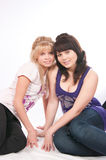 Two girls of girlfriends Royalty Free Stock Image