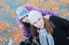 Two girls. Royalty Free Stock Photo