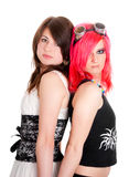 Two girls portrait Royalty Free Stock Photography