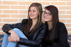 Two_Girls Stock Photography