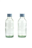 Two of glass bottle Royalty Free Stock Image