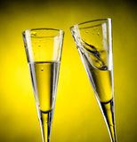 Two glass of champagne Royalty Free Stock Photo