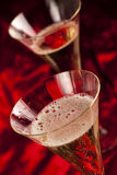 Two glass with champagne Royalty Free Stock Photos