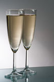 Two glass of champagne Royalty Free Stock Image