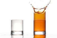 Two glasses Stock Photography