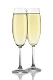 Two glasses of champagne. Stock Photos