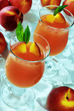 Two glasses of jelly Royalty Free Stock Photos
